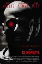 دانلود فیلم ۱۲ میمون Twelve Monkeys 1995 سانسور شده + دوبله فارسی