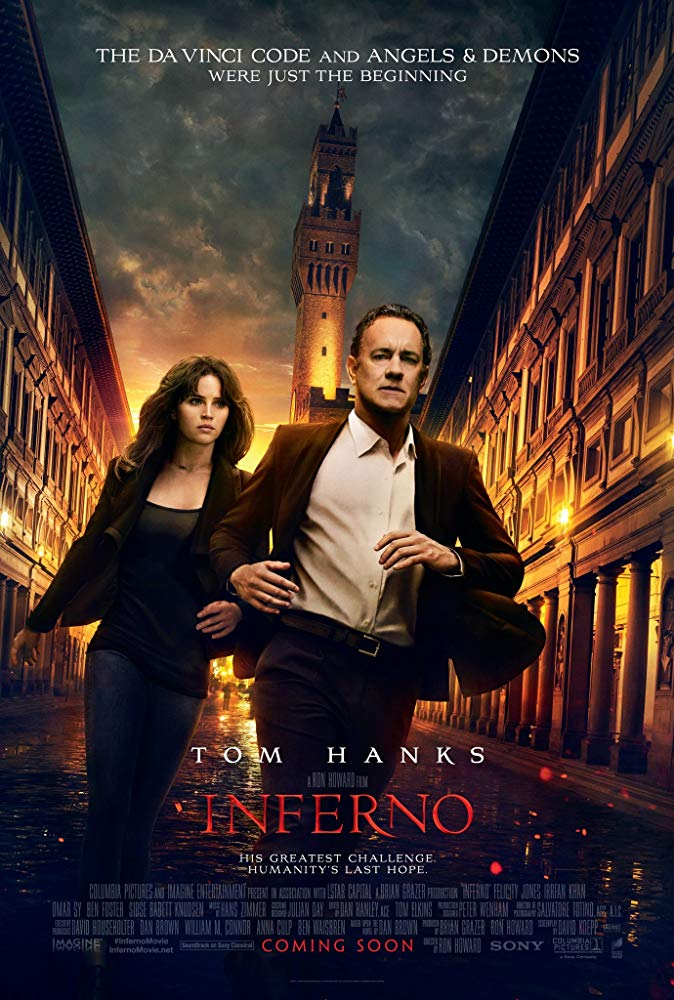 دانلود فیلم دوزخ 2016 Inferno سانسور شده + دوبله فارسی