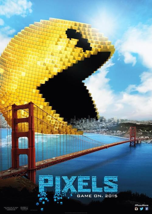 دانلود فیلم پیکسلها Pixels 2015 سانسور شده + دوبله فارسی