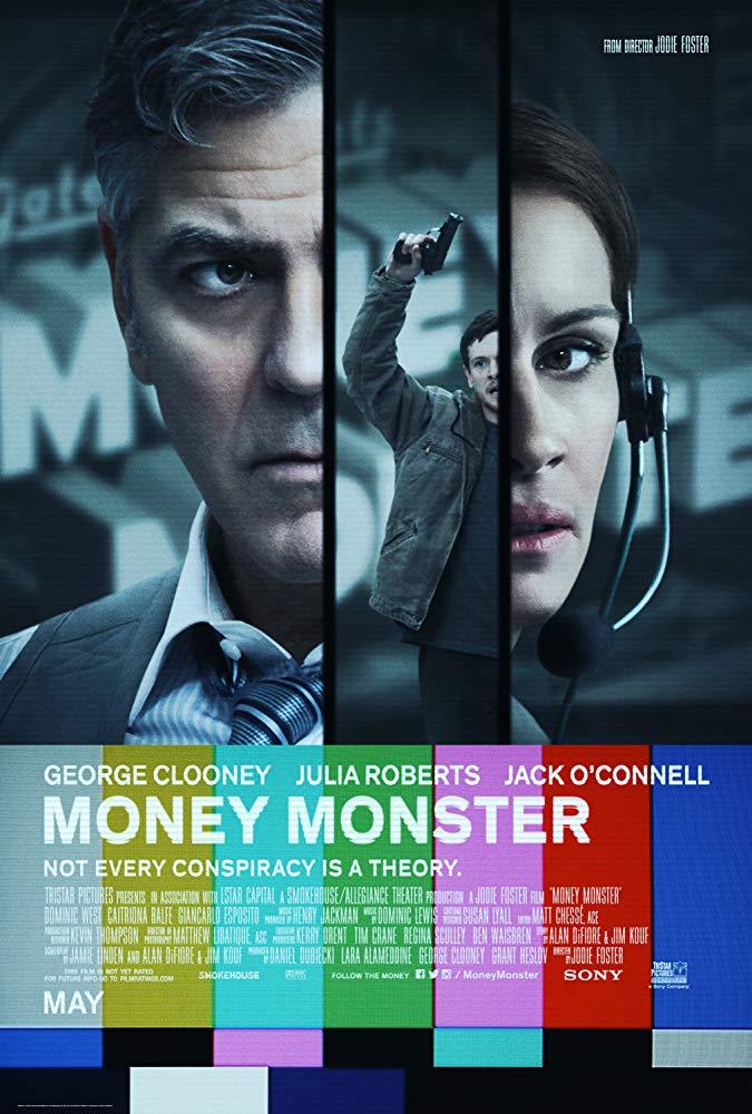 دانلود فیلم هیولای پول 2016 Money Monster سانسور شده + دوبله فارسی