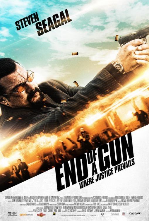 دانلود فیلم در برابر اسلحه 2016 End of a Gun سانسور شده + دوبله فارسی