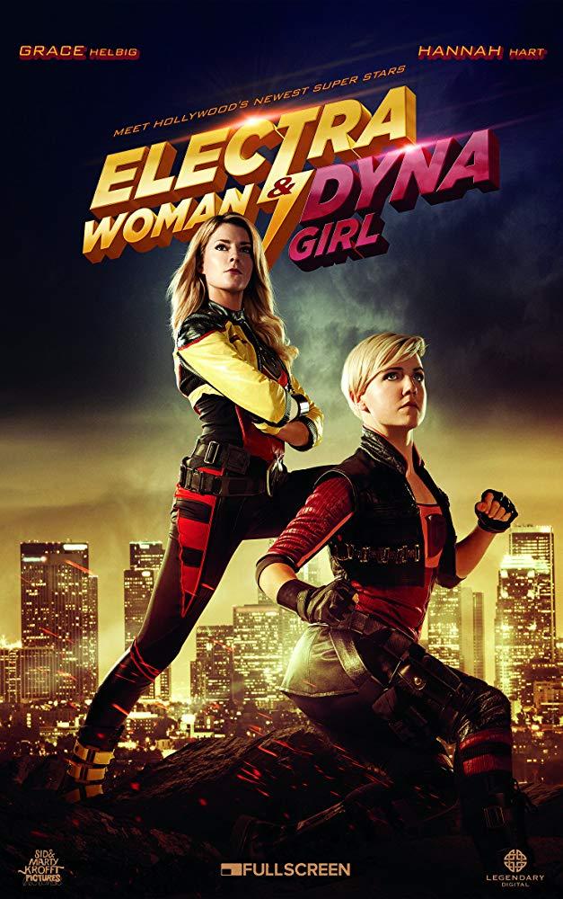 دانلود فیلم زن الکترا و دختر داینا 2016 Electra Woman and Dyna Girl سانسور شده + دوبله فارسی