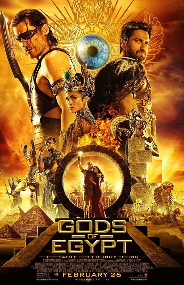 دانلود فیلم خدایان مصر 2016 Gods of Egypt سانسور شده + زیرنویس فارسی