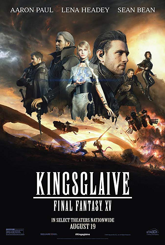 دانلود فیلم فانتزی پایانی 2016 Kingsglaive Final Fantasy XV سانسور شده + دوبله فارسی