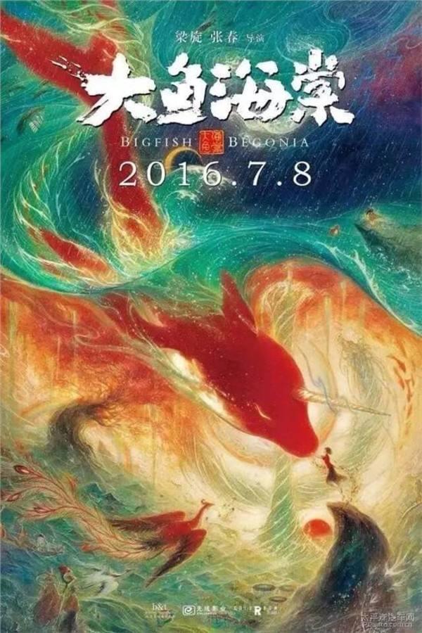 دانلود فیلم ماهی بزرگ و بگونیا 2016 Big Fish And Begonia سانسور شده + زیرنویس فارسی