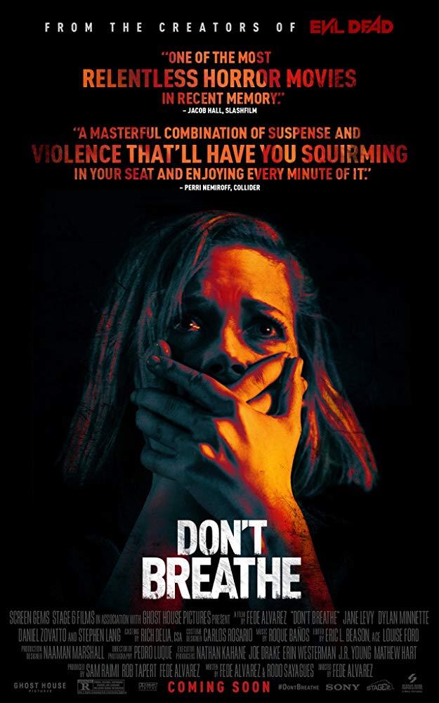 دانلود فیلم نفس نکش 2016 Don't Breathe سانسور شده + زیرنویس فارسی