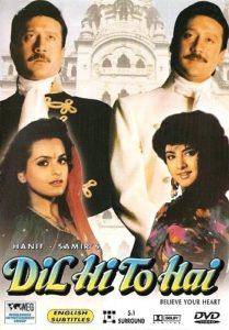 دانلود فیلم هندی دل من برای تو 1992 Dil Hi To Hai سانسور شده + دوبله فارسی