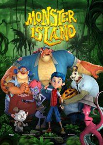 دانلود انیمیشن جزیره هیولا 2017 Monster Island سانسور شده + دوبله فارسی