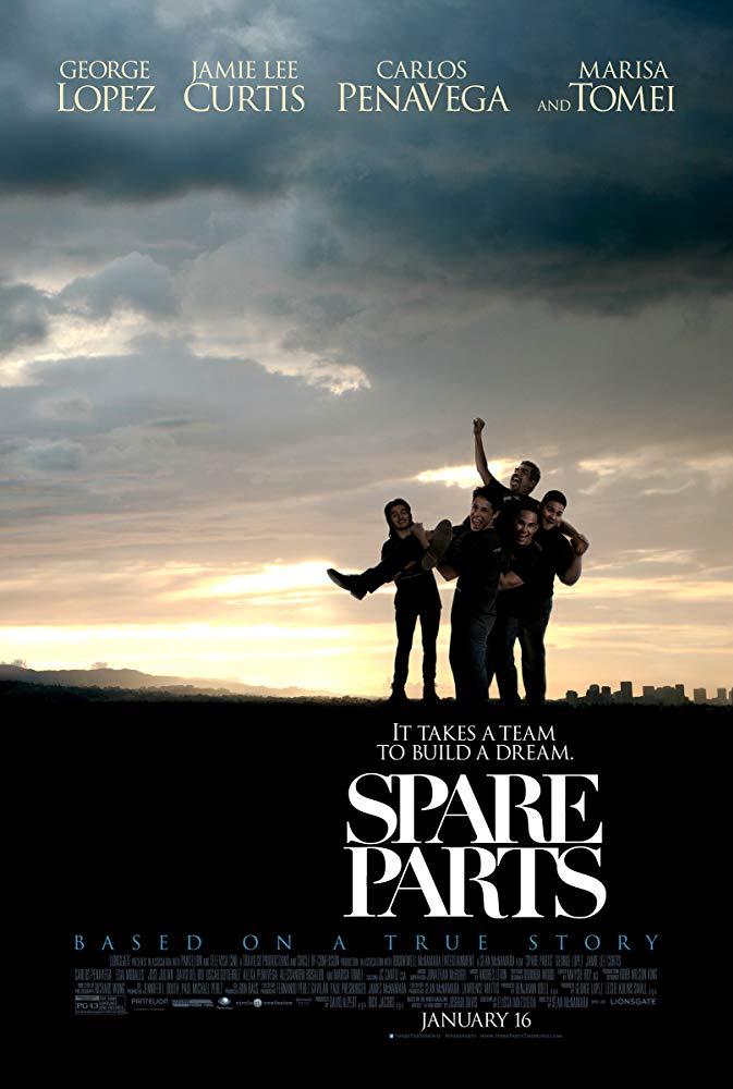 دانلود فیلم لوازم یدکی 2015 Spare Parts سانسور شده + دوبله فارسی