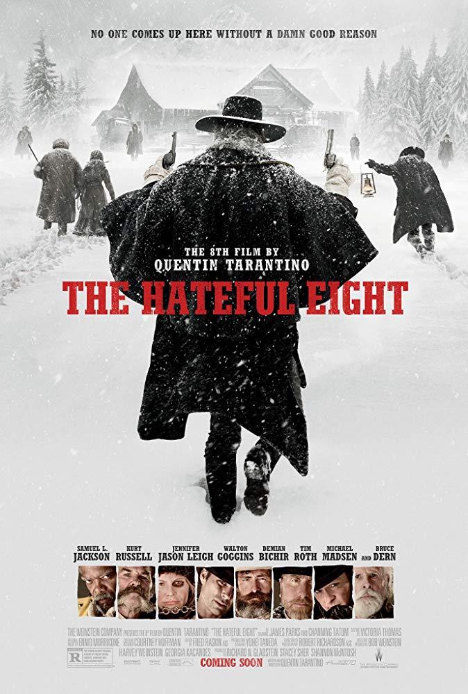 دانلود فیلم هشت نفرتانگیز The Hateful Eight 2015 سانسور شده + دوبله فارسی