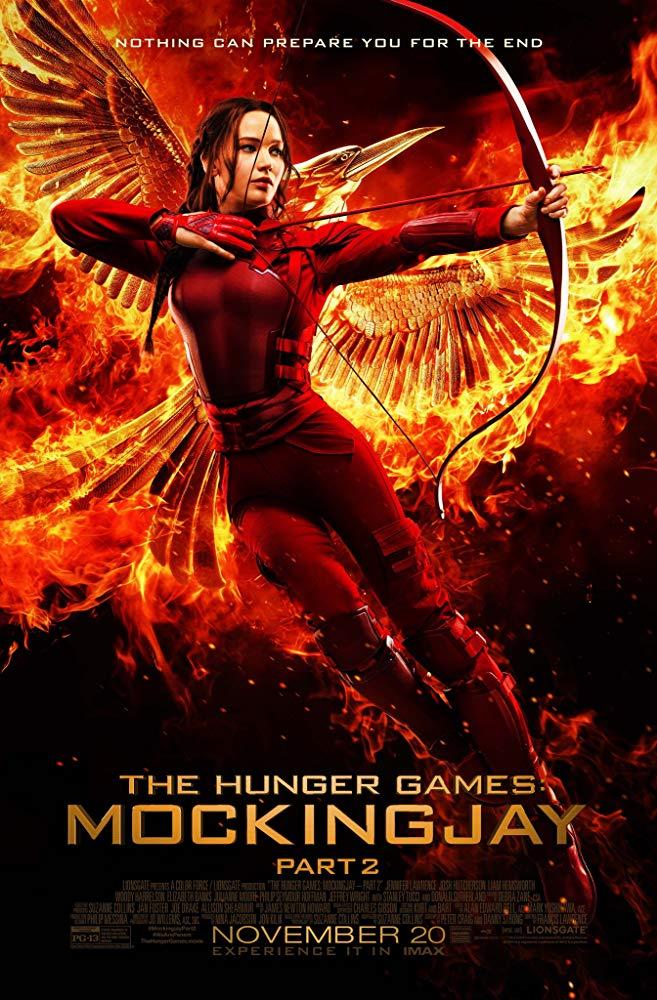 دانلود فیلم عطش مبارزه زاغ مقلد The Hunger Games: Mockingjay - Part 2 2015 سانسور شده + دوبله فارسی