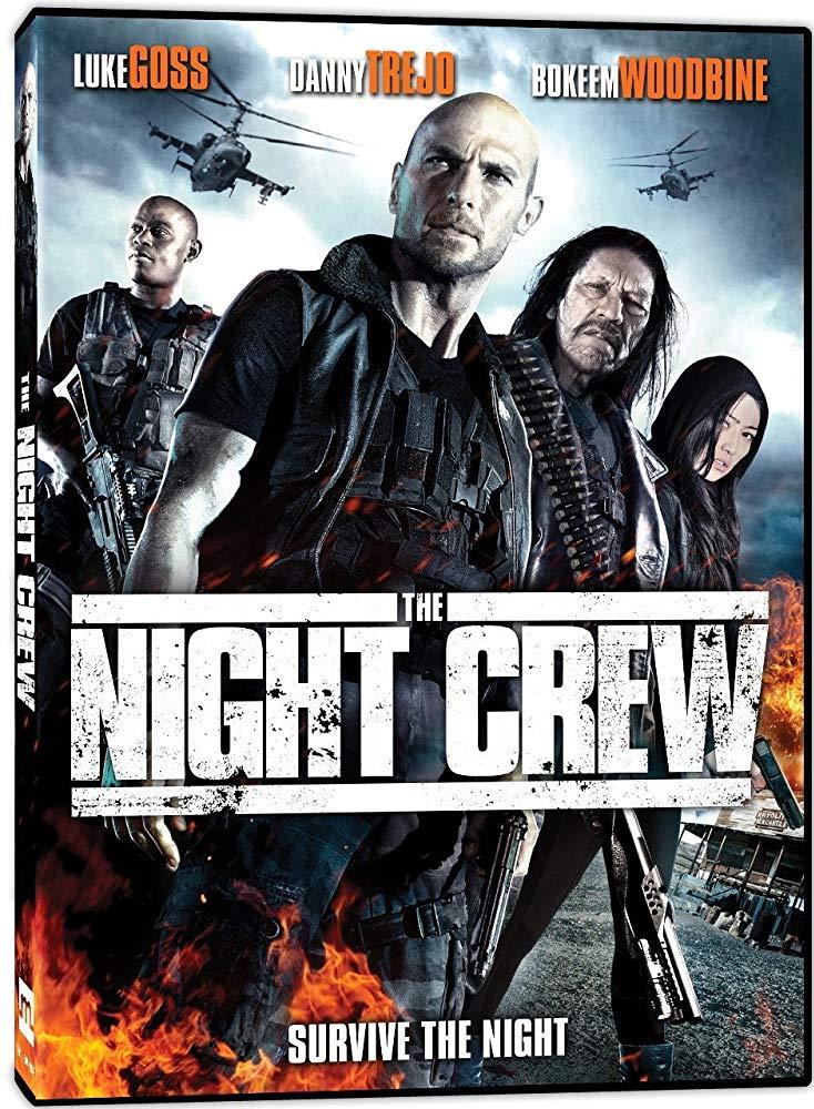 دانلود فیلم شکارچیان شب 2015 The Night Crew سانسور شده + دوبله فارسی