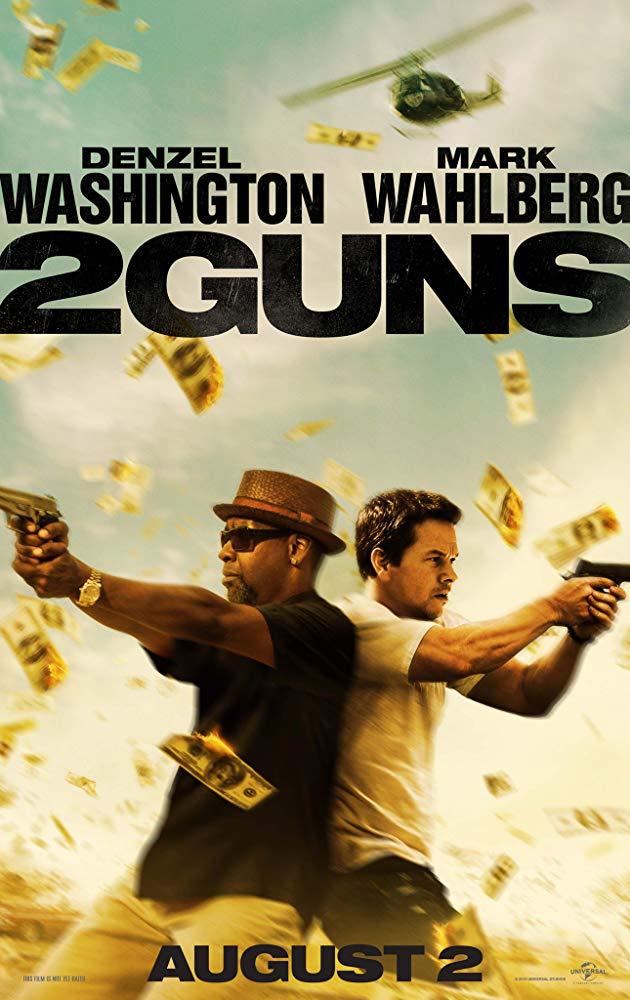 دانلود فیلم ۲ اسلحه 2 Guns 2013 سانسور شده + دوبله فارسی