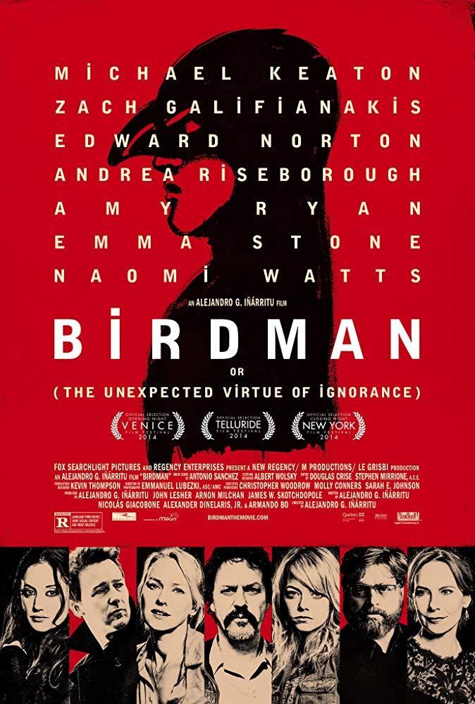 دانلود فیلم مرد پرنده Birdman 2014 سانسور شده + دوبله فارسی