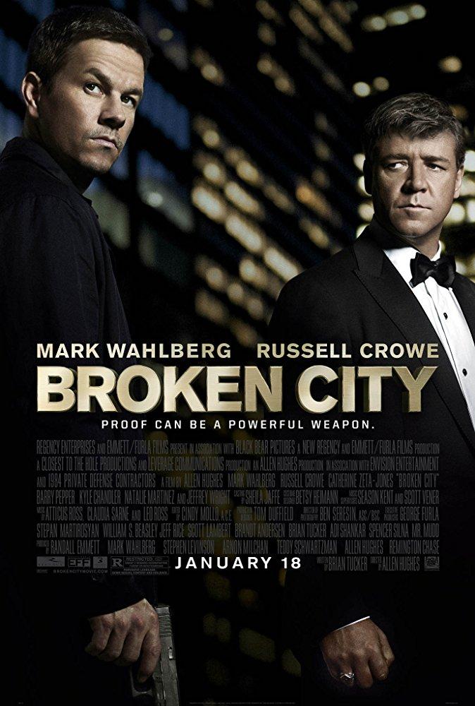 دانلود فیلم شهر شکسته Broken City 2013 سانسور شده + دوبله فارسی