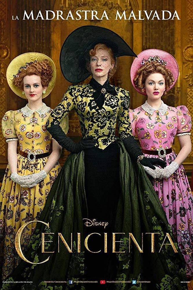 دانلود فیلم سیندرلا Cinderella 2015 سانسور شده + دوبله فارسی