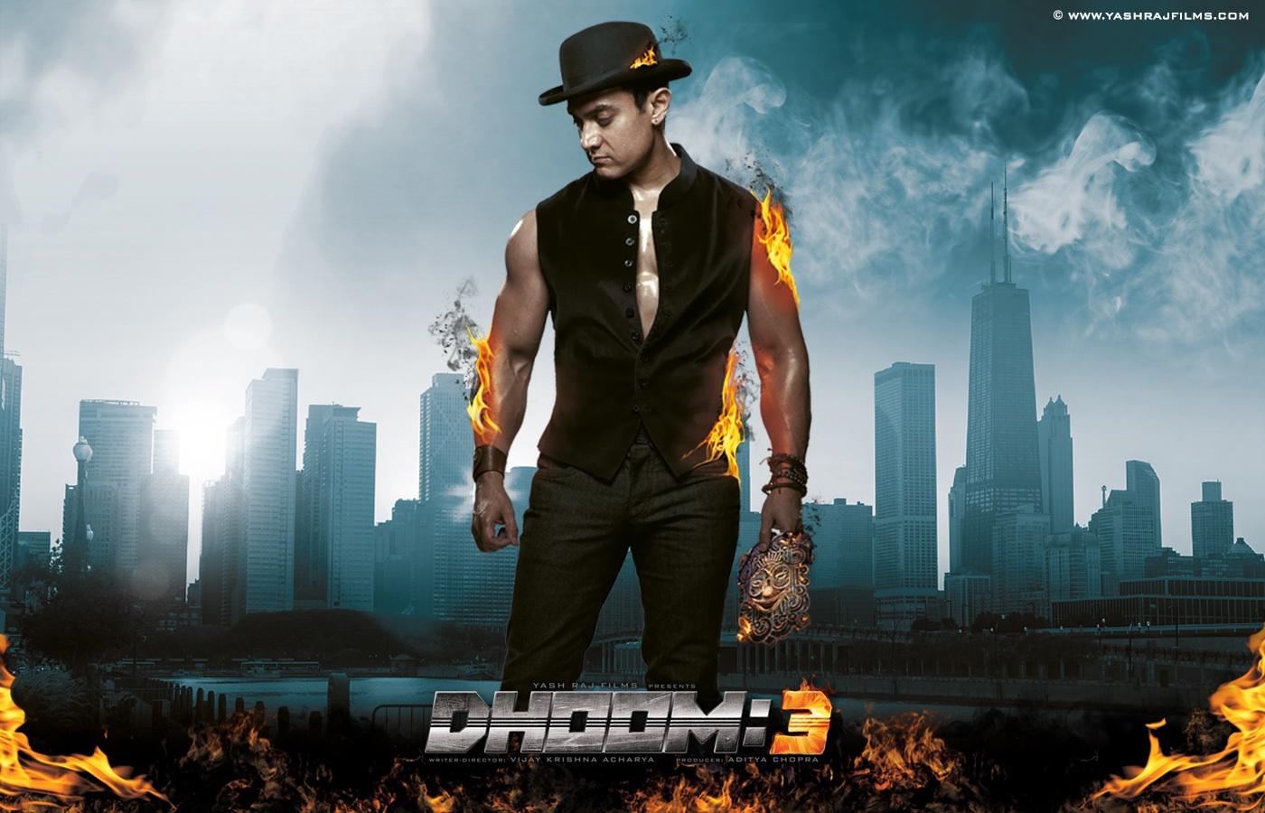 دانلود فیلم انفجار ۳ Dhoom 3 2013 سانسور شده + دوبله فارسی