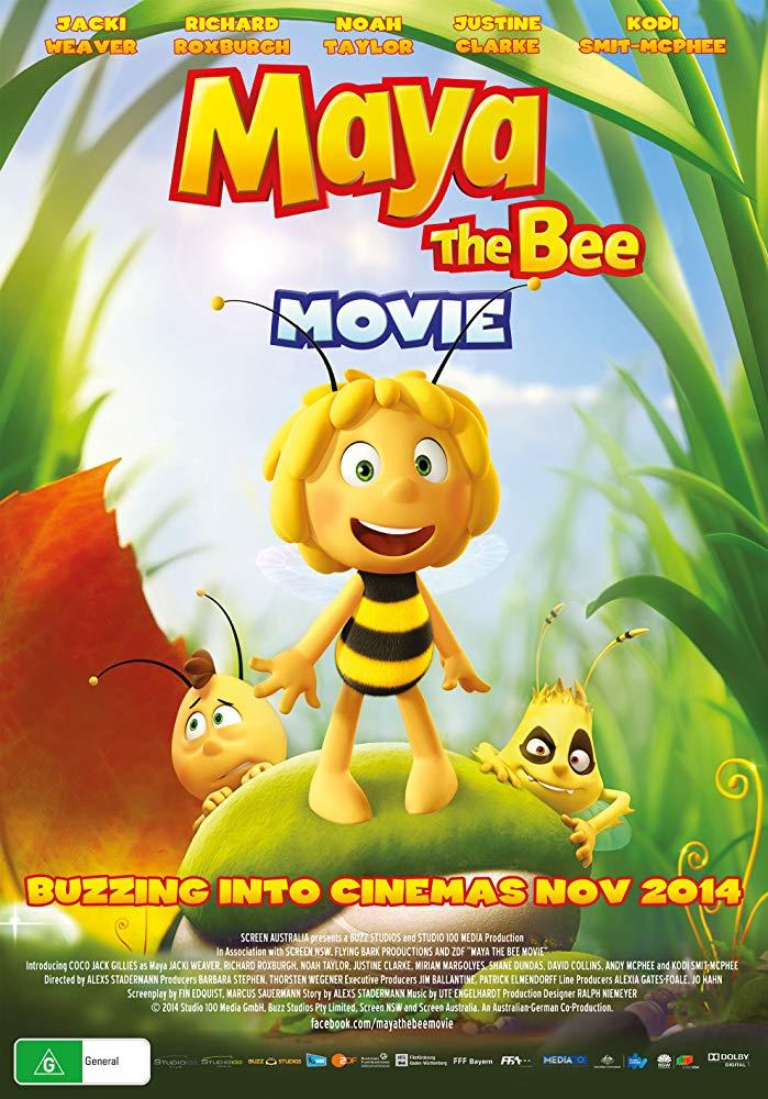 دانلود فیلم مایا زنبور عسل Maya the Bee 2014 سانسور شده + دوبله فارسی