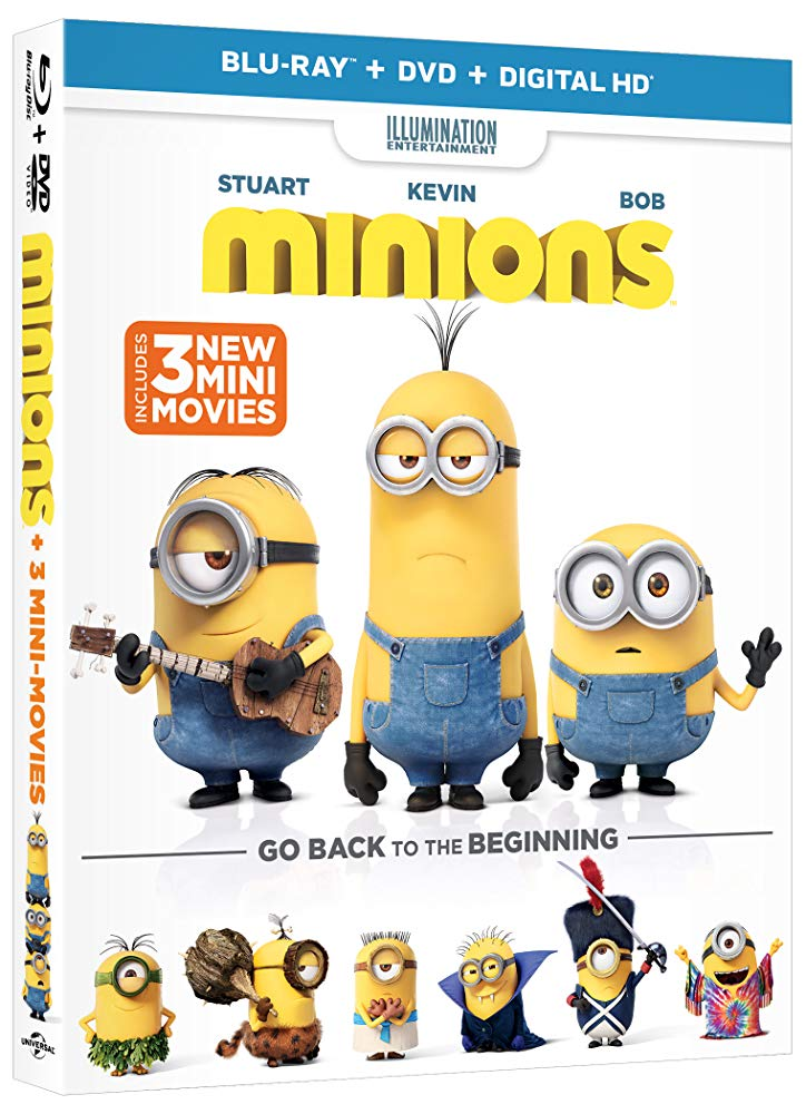 دانلود فیلم مینیونها Minions 2015 سانسور شده + دوبله فارسی