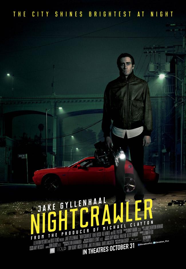 دانلود فیلم شبگرد Nightcrawler 2014 سانسور شده + دوبله فارسی