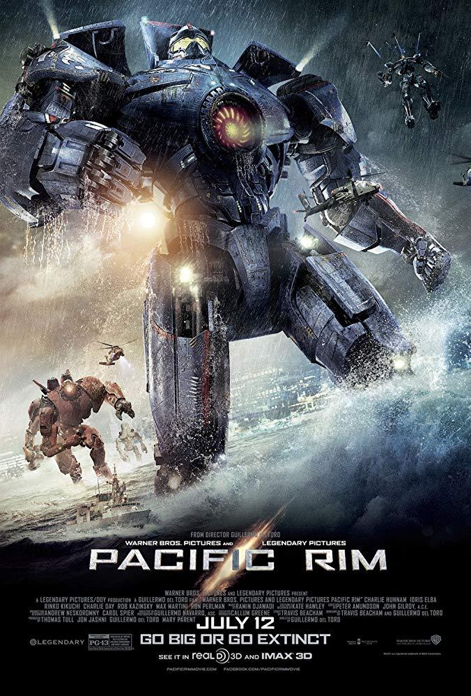 دانلود فیلم حاشیه اقیانوس آرام Pacific Rim 2013 سانسور شده + دوبله فارسی