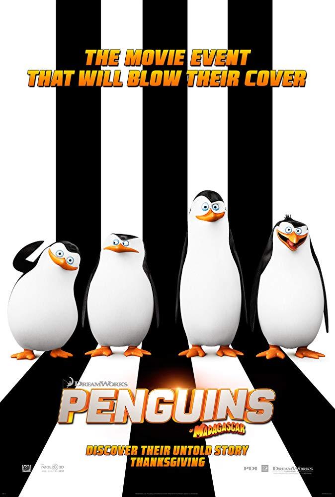 دانلود فیلم پنگوئنهای ماداگاسکار Penguins of Madagascar 2014 سانسور شده + دوبله فارسی