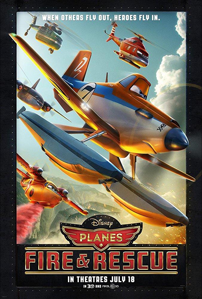 دانلود کارتون هواپیماها آتش و نجات Planes Fire and Rescue 2014 سانسور شده + دوبله فارسی