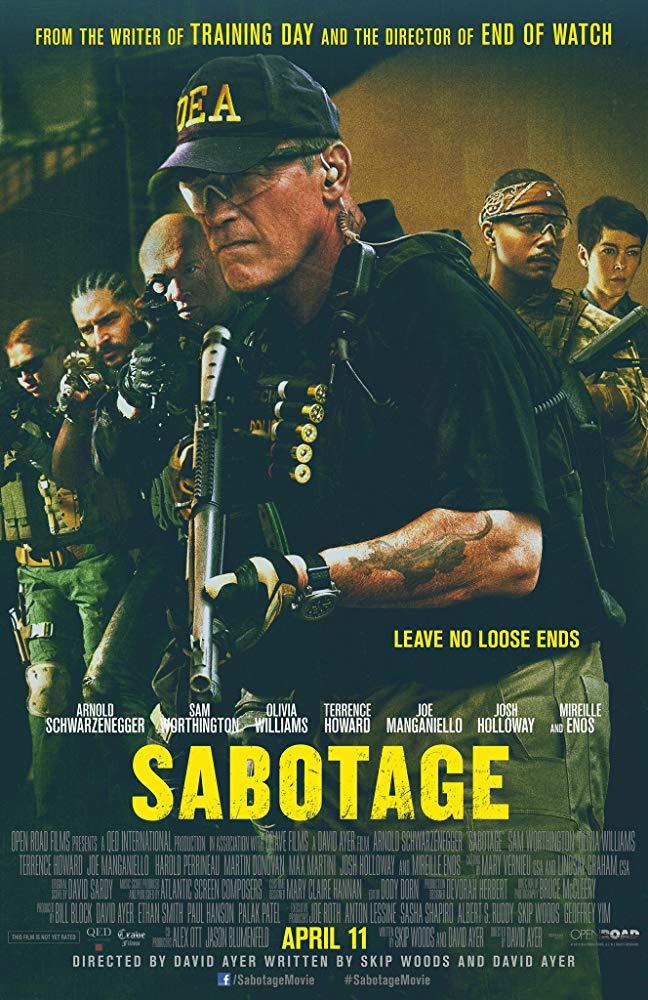 دانلود فیلم سابوتاژ Sabotage 2014 سانسور شده + دوبله فارسی