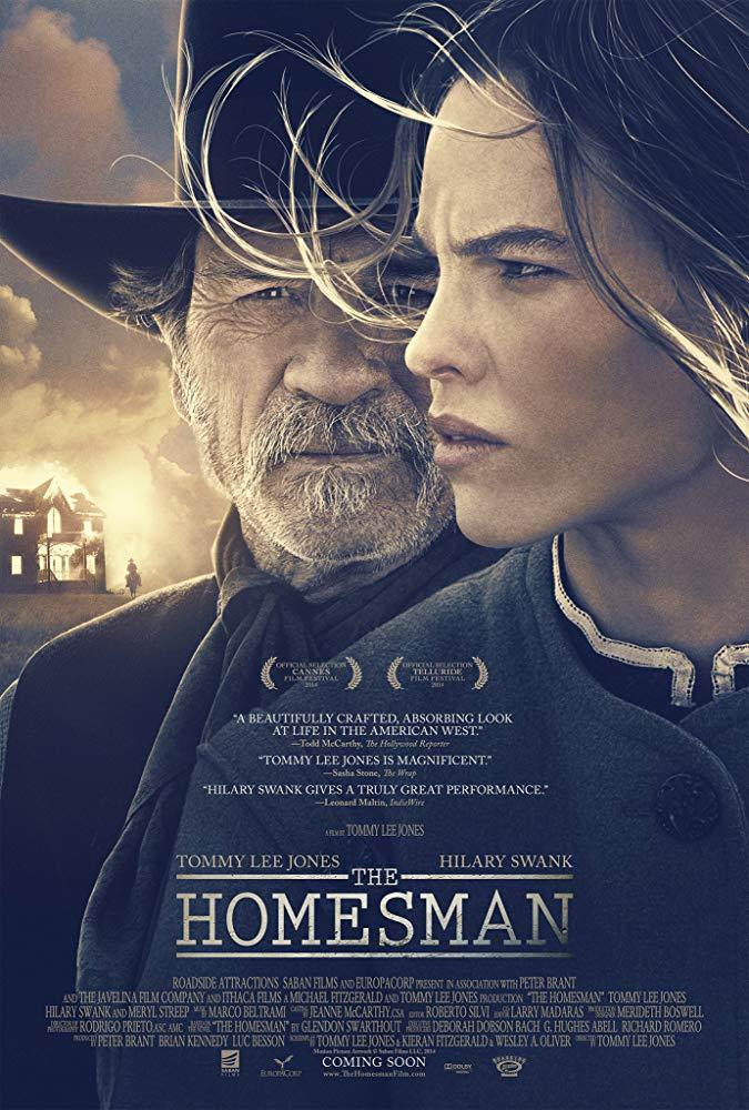 دانلود فیلم سرزمین محکومین The Homesman 2014 سانسور شده + دوبله فارسی
