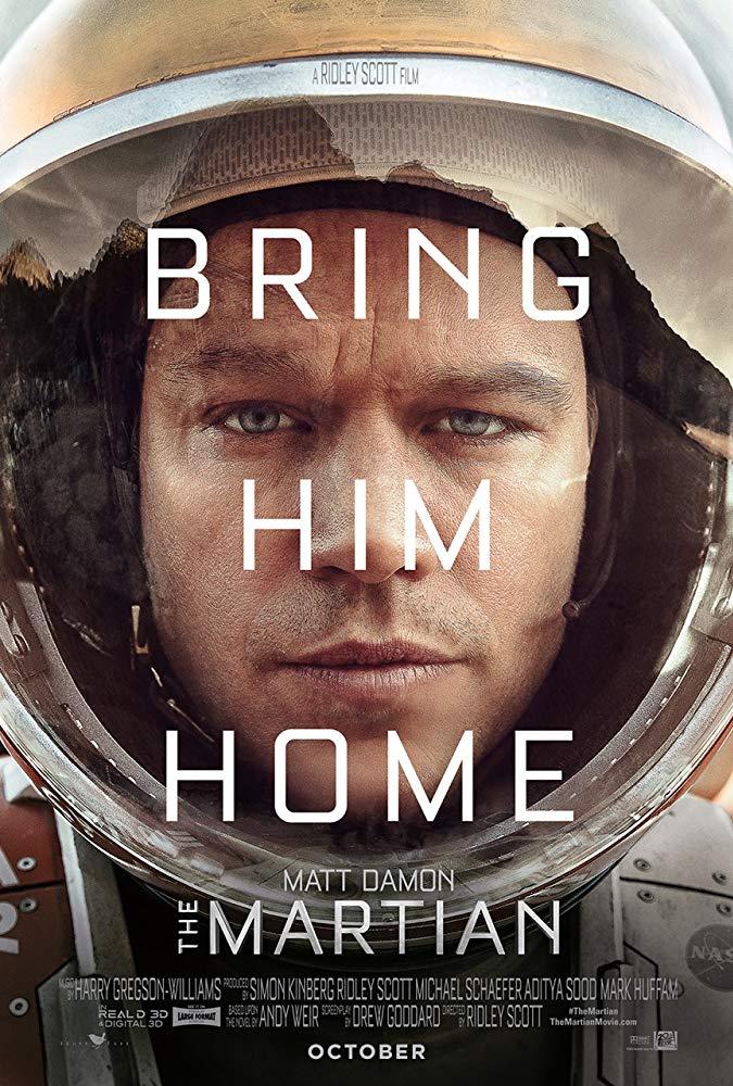 دانلود فیلم مریخی The Martian 2015 سانسور شده + دوبله فارسی