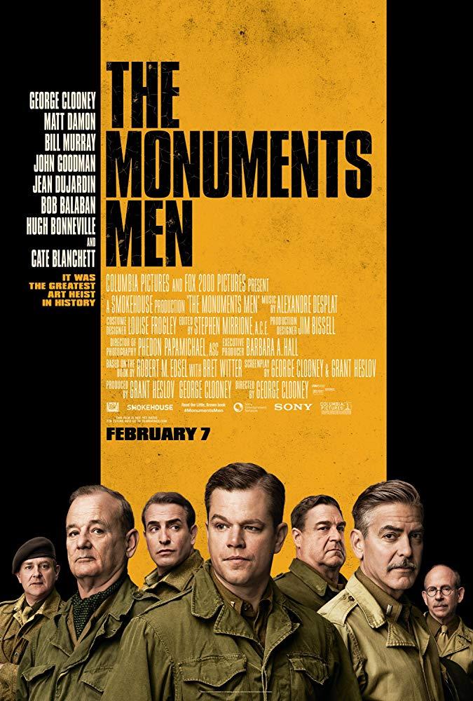 دانلود فیلم مردان آثار تاریخی The Monuments Men 2014 سانسور شده + دوبله فارسی