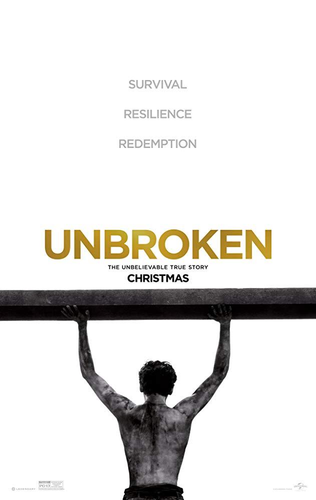 دانلود فیلم شکستناپذیر Unbroken 2014 سانسور شده + دوبله فارسی