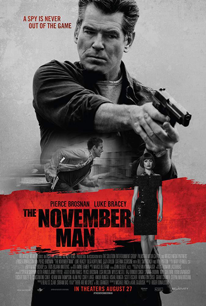 دانلود فیلم مرد نوامبر The November Man 2014 سانسور شده + دوبله فارسی