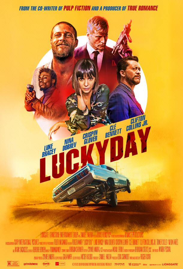 دانلود فیلم روز شانس Lucky Day 2019 سانسور شده + زیرنویس فارسی