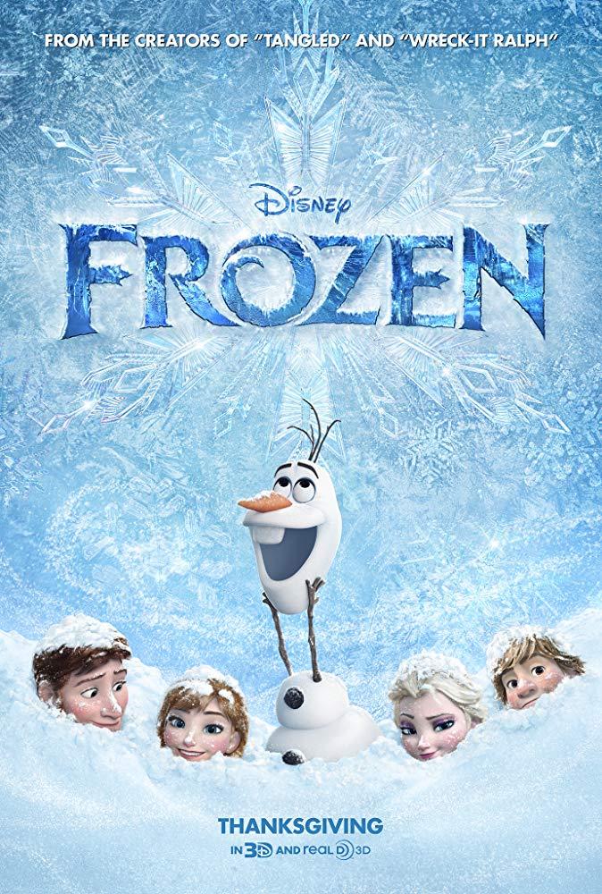 Kristen Bell, Idina Menzel, Josh Gad, Jonathan Groff, and Santino Fontana in Frozen (2013)
