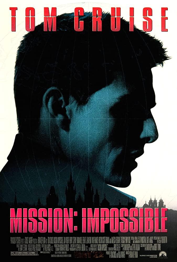 دانلود فیلم ماموریت غیر ممکن 1 - Mission: Impossible 1996 دوبله فارسی