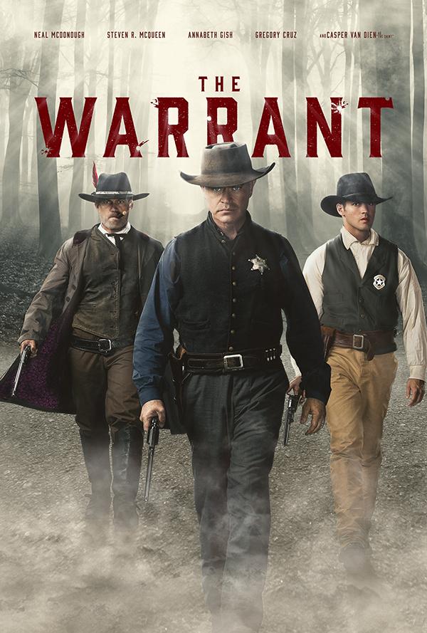 Casper Van Dien, Neal McDonough, and Steven R. McQueen in The Warrant (2020)