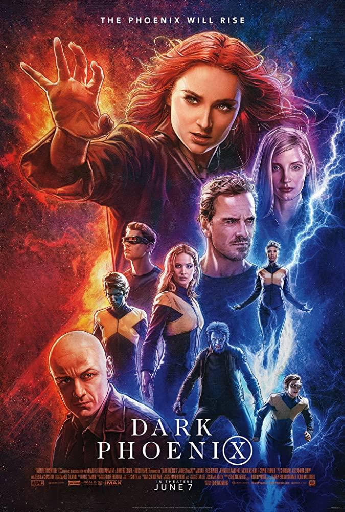 دانلود فیلم مردان ایکس: ققنوس سیاه X-Men: Dark Phoenix 2019 دوبله فارسی