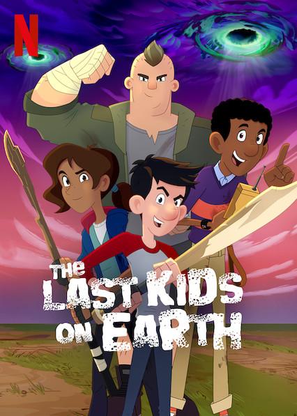 دانلود سریال آخرین بچه های زمین The Last Kids on Earth دوبله فارسی